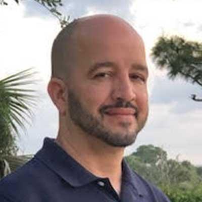 Portrait of Carlos Silver
