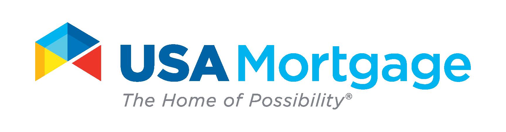 USA Mortgage Logo - Return to Homepage