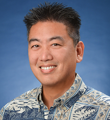 Portrait of Chad Okumura
